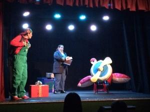 La Isla de los Monos Imitadores en el Teatro La Comedia de Salamanca