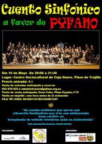 Concierto sinfónico en favor de Pyfano