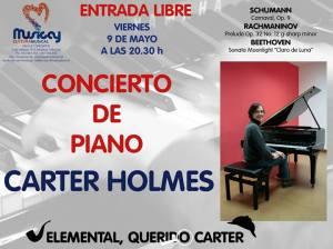 Concierto de piano en Musicay