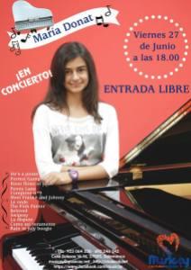 Concierto de piano de Maria Donat