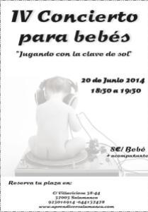 IV conciertoParaBebes en Aprendiver