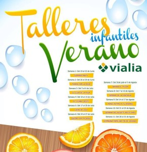 Talleres infantiles en Vialia Salamanca
