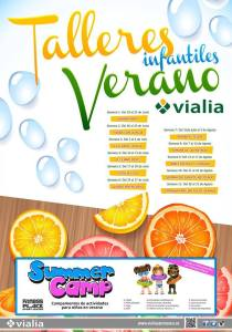 Summer Camp en C.C. Vialia