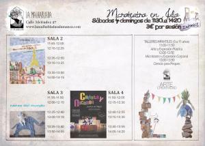 Programación infantil en La Malhablada en julio