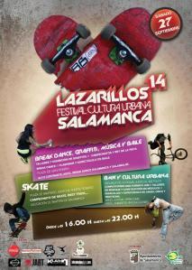Festival Lazarillos de Cultura Urbana en Salamanca