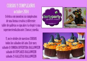 Actividades de Tarty Party en octubre