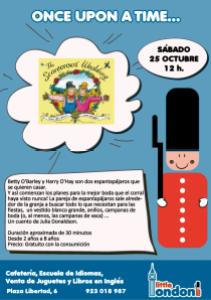 Cuentacuentos en Inglés 25 de octubre