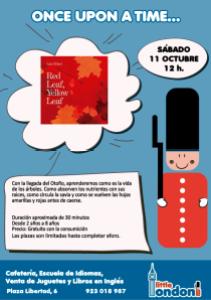 Cuentacuentos en inglés en Little London este sábado 11 de octubre