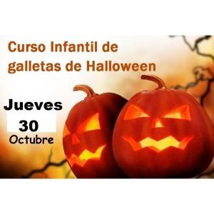 Curso Infantil de Galletas de Halloween 30 de octubre