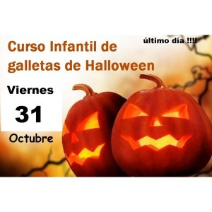 Curso Infantil de Galletas de Halloween 31 de octubre