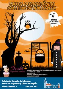 Decorando galletas de Halloween con Marisa Doirelú en Little London