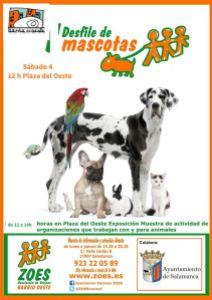 Desfile de mascotas en ZOES