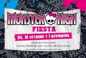 Fiesta Monster High en el CC Tormes