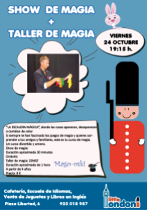 La magia del mago Oski en octubre en Little London