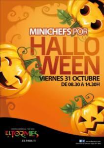 Minichefs en Halloween