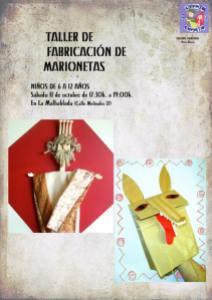 Taller de fabricación de marionetas en La Malhablada
