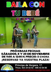 Baila con tu bebé en la A.B. Raquel Gómez