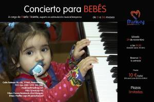 Concierto para bebés en Musicay
