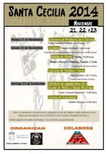 Concierto Santa Cecilia en Villamayor