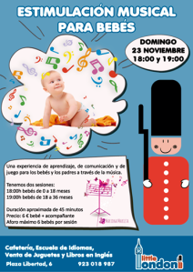 Estimuación Musical para Bebés en Little London
