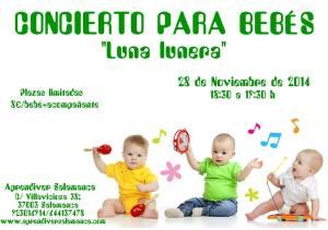 Luna Lunera concierto para bebés en Aprendiver