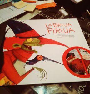 Portada de La Bruja Piruja
