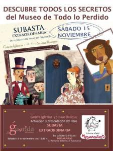 Presentacion Cuentacuentos de  Subasta Extraordinaria en Musarañas