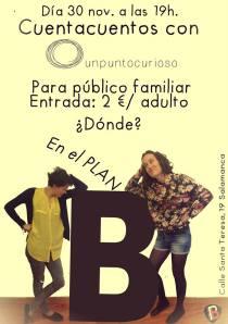 Unpuntocurioso en Plan B Salamanca