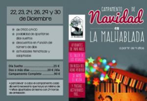 Campamento de Navidad en La Malhablada