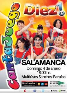 Cantajuegos en el Multiusos el 4 de enero