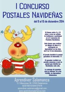 Concurso de postales navideñas en Aprendiver