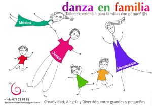 Danza en Familia en Espacio Psicología Yoga