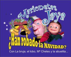 Marionetas Jaya en el Teatro la comedia