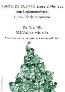 Punto de Cuento especial Navidad en Unpuntocurioso el 22 de diciembre
