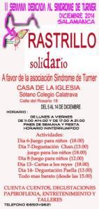 Rastrillo Solidario Alejandra Grandes