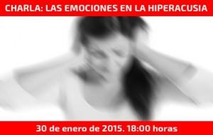 Charla sobre Las emociones en la hiperacusia en Serendipity