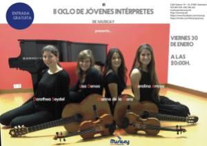 Ciclo de Jóvenes Intérpretes en Musicay este viernes 30 de enero