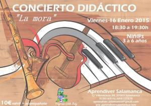 Concierto Didáctico en Aprendiver el 16 de enero