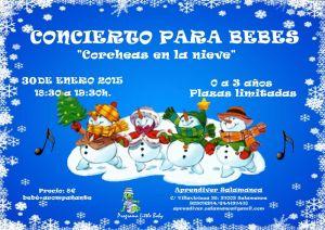 Concierto para bebés en Aprendiver el 30 de enero