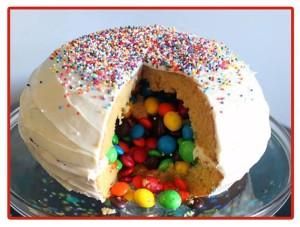 Curso de tarta piñata en Tarty Party el 24 de enero