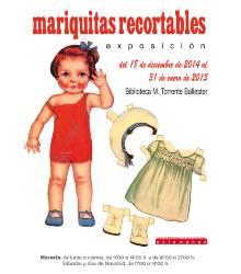 Expo de Mariquitas Recortables en la Torrente