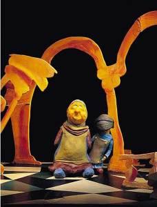 Marionetas en el Liceo el 25 de enero