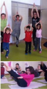 Yoga en familia en Espacio Psicologia el 1 de febrero