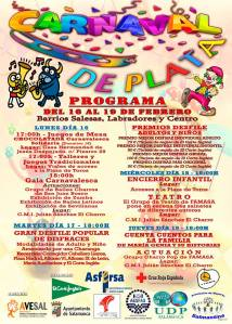 Carnaval de Plata organizado por Avesal