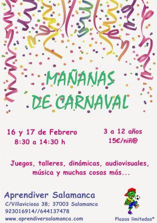 Mañanas de Carnaval en Aprendiver