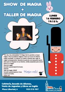 Magia en Carnaval con el Mago Oski